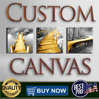 CUSTOM CANVAS PRINTING HD PRINT YOUR OWN PHOTO ON CANVAS, NO WOODEN  FRAME