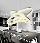 Dimming LED creative living room acrylic round personalized restaurant chandelie