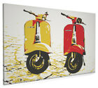 Classic Scooter Box Canvas and Poster Print (138)