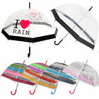 TheBigShip Dome Umbrella Brolly Collection Assorted Designs