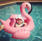 New Baby Kids Infant Flamingo Inflatable Float Seat Water Toy Pool Swimming Ring