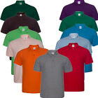 Men's Cotton Blend 3-Button Pique Sport Polo Golf Shirt Casual T-shirt GIFT