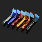CNC Aluminum Universal Rear Side Rearview Mirrors Motorcycle Scooter Street Bike