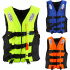 Kids Adult Universal Life Jacket Sailing Boating Preserver Swimming Vest Fishing