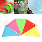 10pcs/Pack Colorful Bunting Flags Burgees Outdoor Events/Store Opening
