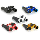 1Pair Mountain Bike Handle Bar Grips Double Lock On MTB BMX Bicycle Cycling GIFT
