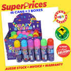 CRAZY STRINGS◉SILLY STRING◉BIRTHDAY WEDDING FUNPARTY◉6 ASSORTED COLOUR◉SPRAY CAN