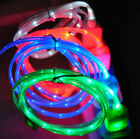 LED light-up USB charger cable cord compatible with iphone 5 6 7 8 Plus S