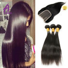 Peruvian Hair with lace Closure Human Hair Extensions Weave bundles hair wave