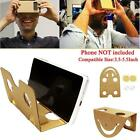 Cardboard 3D VR Simple Google Headset Glasses Free VR Movies For iPhone 4 5 6 BG