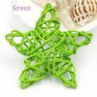 10pcs Craft Wedding Favors Rattan Wooden Sepak Takraw Five-pointed Star