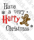 Have a Very Harry Christmas Harry Potter Decal Sticker