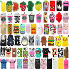 For iPhone 6/6s 6Plus/6sPlus 3D Cute Cartoon Soft Silicone Phone Case Cover Back