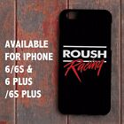 New Roush Racing Mustang Performance Parts for iPhone 6 6s 6+ 6s+ Case Cover