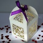 Butterfly Lantern Favour Box in White or Ivory, ideal weddings, parties,