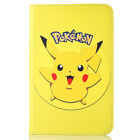 Pokemon Go Cartoon Flip Leather Case Cover For Samsung Galaxy Tab T550 T560 T110