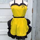 Yellow Star Trek Apron Command Uniform Cosplay Costume Convention Trekkie