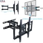"32-56"" TV Wall Mount with Dual Articulating Extension Arm Tilt Swivel Rotation"