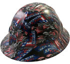 """WILD-SIDE"" ""BIKER"" Design Full or Cap Style HYDRO DIPPED Safety Hard Hats"