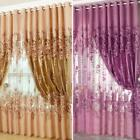 Peony Pattern Voile Curtain ZH2A