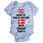 Funny Baby Grow / Vest - MADE IN GREAT BRITAIN WITH DANISH PARTS - Body Suit