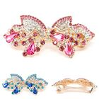 USA Hair Barrette rhinestones BOW metal hair accessory hair claw clip clamp B43