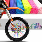 bicycle wheel spoke covers - 36pc Wheel Spoke Wraps Kit Rims Skins Covers Guard Protector Motocross Dirt Bike