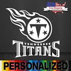 NFL Titans Tennesse Vinyl Decal Sticker Football for Car Truck Logo FOOTBALL