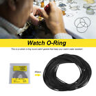950pcs 0.5-0.7mm 12mm-30mm O Ring Rubber Seal Washers Watch Case Back Gaskets LJ