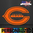 NFL Chicago Bears Vinyl Decal Sticker Football for Car Truck Logo FOOTBALL