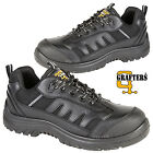 MENS GRAFTERS COMPOSITE TOE CAP SAFETY BOOTS WOMENS LACE UP WORK TRAINERS SHOES