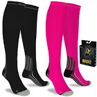 Compression Socks Anti Fatigue Calf Sleeves Flight Travel Running Men Ladies