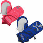 Regatta Spatter III Kids Mitts Iinsulated Winter Mittens Girls Boys