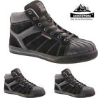 NEW MENS GROUNDWORK ANKLE HIGH LEATHER STEEL TOE CAP BOOTS SAFETY WORK SHOES SZ