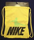 NIKE Soccer_GYM SACK_Backpack_NWT- Yellow/Orange >> Authentic Gear <<