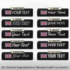 Car Seat Belt Pad Shoulder Custom Cushion Safety Cover Strap Harness TEXT TAG UK