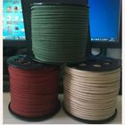 wholesale 10 yds 3color 3 mm Suede Leather String Jewelry Making Thread Cords ho
