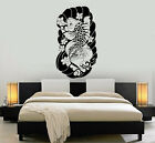 Vinyl Wall Decal Koi Carp Japan Art Japanese Fish Asian Room