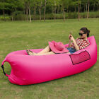 Lazy Lounger Fast Inflatable Air Bed Sofa Sleeping Bag Beach Hangout Camping