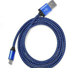 10ft Long Braided Micro USB Data Charging Cable For Android Samsung Galaxy LG