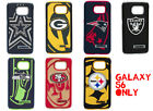 Samsung Galaxy S6 NFL Football Hard Impact Dual Hybrid TPU Rubber Case Cover