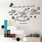 New DIY Home Room Decor Charm Art Wall Decal Stickers Bedroom Removable Mural