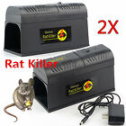 LOT Electronic Mouse Trap Victor Control Rat Killer Pest Electric Zapper Rodent@