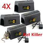 LOT Electronic Mouse Trap Victor Control Rat Killer Pest Electric Zapper Rodent@ photo