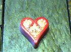 HEART OF LOVE  HANDMADE SOY BEESWAX PLATE VOTIVE RICHLY SCENTED or UNSCENTED