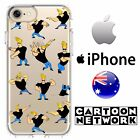 iPhone Case Cover Silicone Johnny Bravo Funny Cartoon Nostalgic Elvis Disney Coo