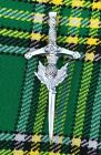 "Scottish Kilt Pins Various Design Chrome Finish 4"" Highland Pin & Brooch Celtic"