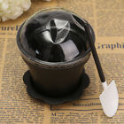 Plastic Flower Pot Shape Muffin Mini Cake Pan Baking Cup Mold Set With Spoon Lid