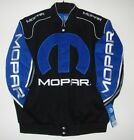 Authentic Mopar Racing Embroidered Cotton Jacket JH Design Black New