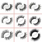 100% 3D MINK Pairs Long Natural Thick Handmade Luxury False Eyelashes Eye Lashes